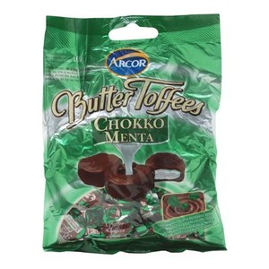 7610114006213 - ARCOR BUTTER TOFFEES CHOCOLATE COM MENTA