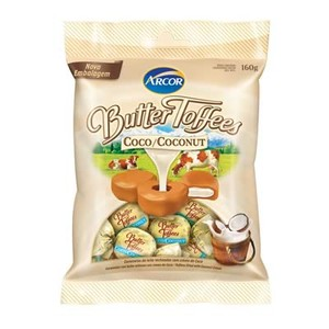 7891118002320 - ARCOR BUTTER TOFFEES CÔCO