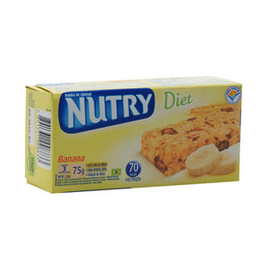 7896798600101 - BARRA DE CEREAL NUTRY DIET BANANA