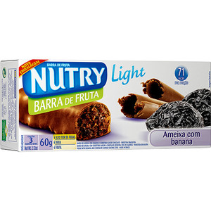 7891331002978 - BARRA DE CEREAL NUTRY LIGHT AMEIXA COM BANANA