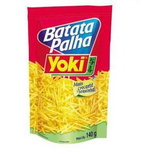 7891095008919 - BATATA PALHA TRADICIONAL YOKI PACOTE 140G