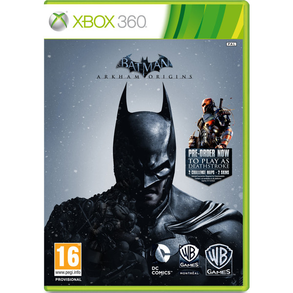 7892110158817 - BATMAN ARKHAM ORIGINS XBOX 360 DVD
