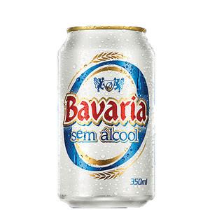 7896045501250 - CERVEJA NACIONAL SEM ALCOOL LATA 350ML BAVARIA