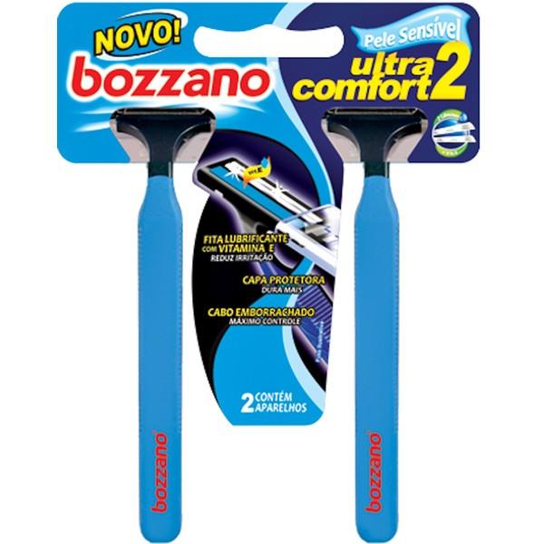 7898291211037 - BOZZANO ULTRA COMFORT 2 DESCARTÁVEL 2 UNIDADES