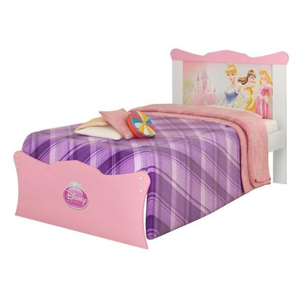 7893530043356 - CAMA PURA MAGIA PRINCESAS HAPPY INFANTIL
