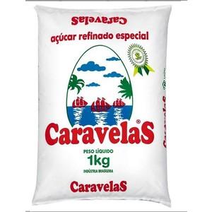 7896894900013 - AÇÚCAR REFINADO ESPECIAL CARAVELAS PACOTE 1KG