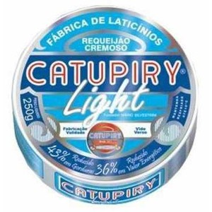 7896353300248 - REQUEIJÃO CREMOSO LIGHT CATUPIRY POTE 250G