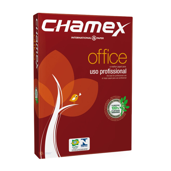 7891173023018 - CHAMEX OFFICE SULFITE A4 500 PACOTE