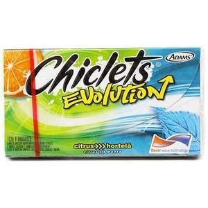 7895800854082 - CHICLETS CITRUS E HORTELÃ EVOLUTION