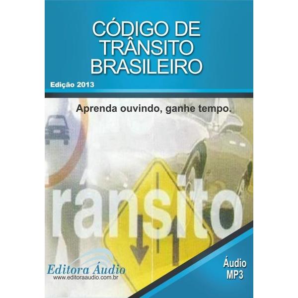 9788580260731 - CODIGO DE TRANSITO BRASILEIRO AUDIOBOOK EDITORA AUDIO