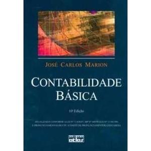 9788522455928 - CONTABILIDADE BÁSICA - JOSÉ CARLOS MARION