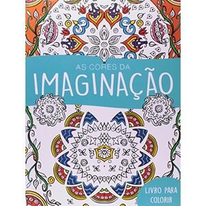 9788538065043 - CORES DA IMAGINACAO LIVRO DE COLORIR - 242G - EDITORA CIRANDA CULTURAL