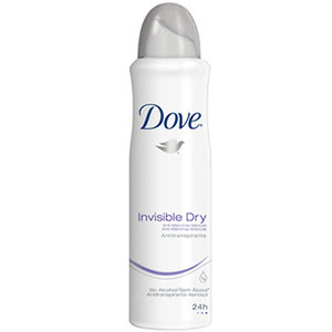7791293008868 - DESODORANTE AEROSOL INVISIBLE DRY 170ML DOVE
