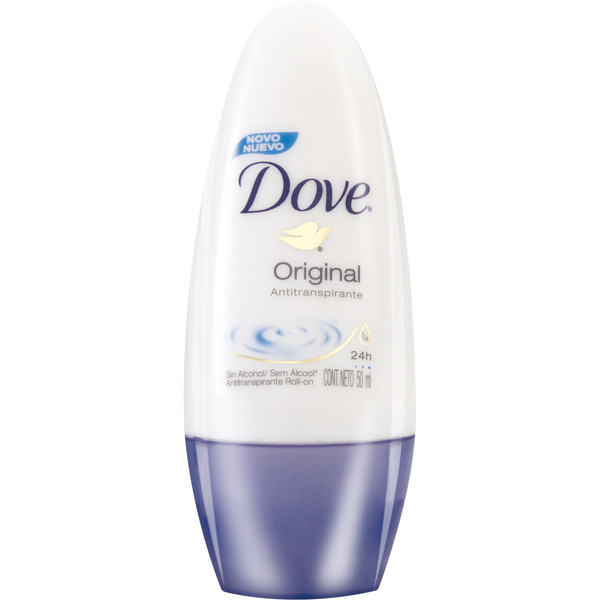 7891037002517 - DOVE ORIGINAL ROLL ON FEMININO