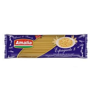 7896021300082 - ESPAGUETE SANTA AMÁLIA Nº 8 SÊMOLA