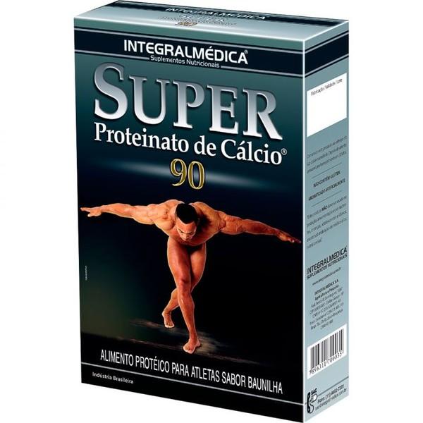 7896311700035 - ESPORTIVO INTEGRALMÉDICA SUPER PROTEINATO DE CÁLCIO 90 CAIXA PÓ 300 GRAMAS