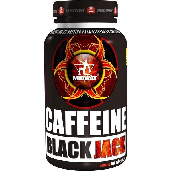7898008493374 - ESPORTIVO MIDWAY CAFFEINE BLACK JACK POTE 90 CÁPSULAS