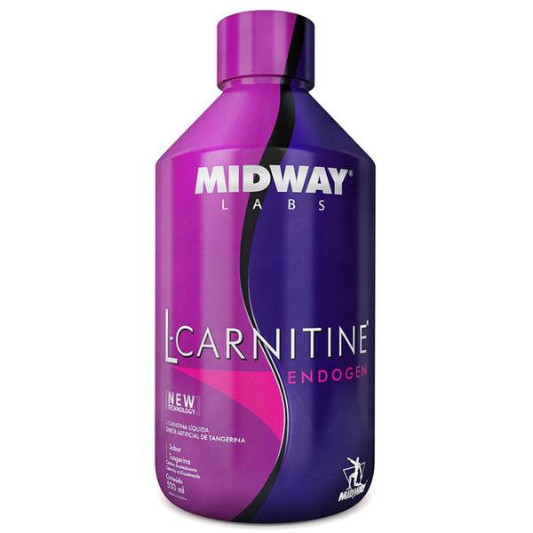 7898008493831 - ESPORTIVO MIDWAY L-CARNITINE ENDOGEN FRASCO