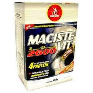 7898008490137 - ESPORTIVO MIDWAY MACISTE VIT 2600 CAIXA PÓ 450 GRAMAS