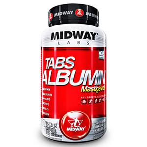 7898008492148 - ESPORTIVO MIDWAY TABS ALBUMIN MASTIGÁVEL POTE 100 TABLETES