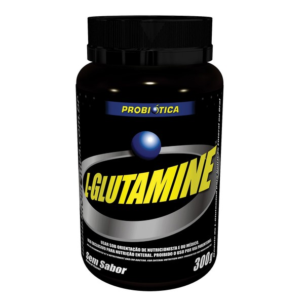 7896438204744 - ESPORTIVO PROBIÓTICA L-GLUTAMINE POTE PÓ 300 GRAMAS