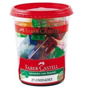 7896326943786 - FABER-CASTELL COM DEPÓSITO 1 FURO 25 UNIDADES