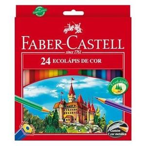7891360587378 - FABER-CASTELL ECOLÁPIS 24 CORES