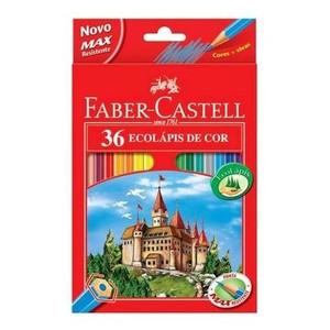 7891360320142 - ECOLÁPIS DE COR FABER-CASTELL 36 UNIDADES