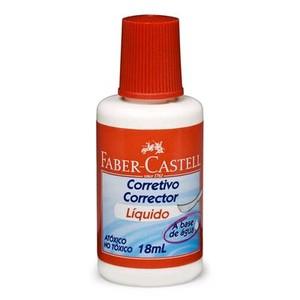 7891360303763 - CORRETIVO LÍQUIDO BASE DE ÁGUA FABER-CASTELL ECO 18ML