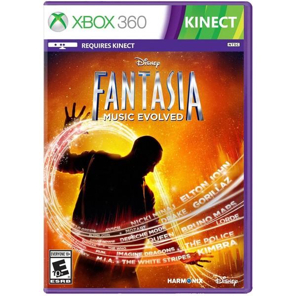 0712725025427 - FANTASIA MUSIC EVOLVED XBOX 360 DVD