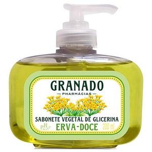 7896512911520 - SABONETE LÍQUIDO GLICERINADO GRANADO 200ML GLICERINA ERVA DOCE UNIT