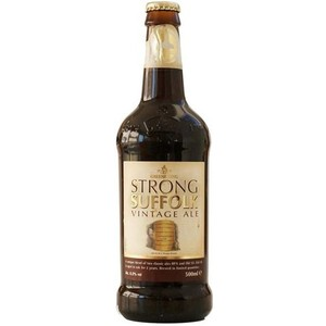 5010549105406 - CERVEJA VINTAGE ALE PURO MALTE STRONG SUFFOLK GREENE KING GARRAFA 500ML