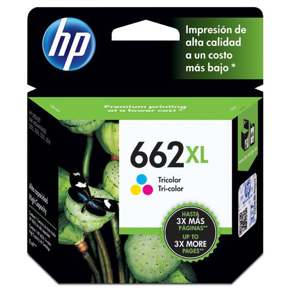 0886112695729 - HP 662XL CZ106AB TRICOLOR