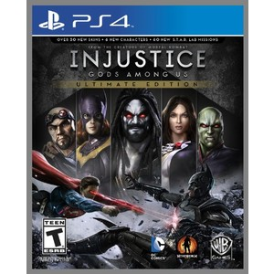 7892110200547 - INJUSTICE GODS AMONG US ULTIMATE EDITION PLAYSTATION 4 BLU-RAY