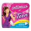 7896007541058 - INTIMUS GEL TEEN FLUXO INTENSO COM ABAS 8 UNIDADES