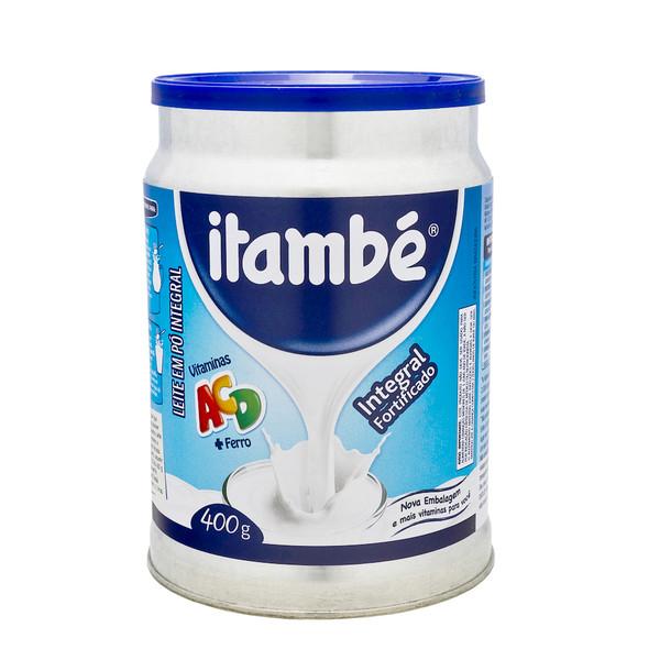 7896051130284 - LEITE EM PÓ INTEGRAL ITAMBÉ LATA 400G