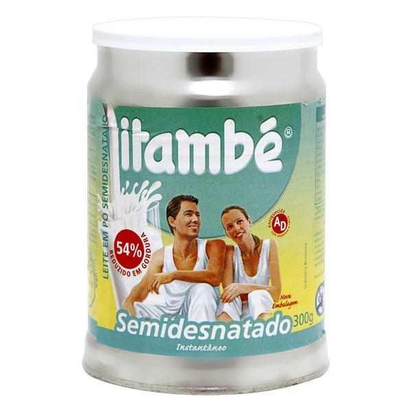 7896051131205 - LEITE EM PÓ INSTANTÂNEO SEMIDESNATADO ITAMBÉ LATA 300G