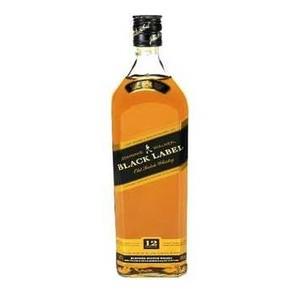 5000267023601 - WHISKY ESCOCÊS BLENDED BLACK JOHNNIE WALKER GARRAFA 1L