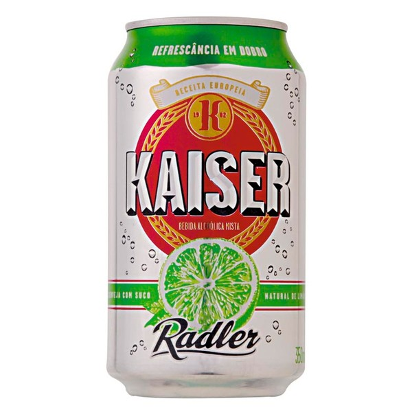 7896045504343 - KAISER RADLER FRUIT BEER LATA 1 UNIDADE