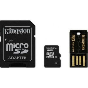 0740617182941 - KINGSTON MOBILITY KIT MBLY10G2 8GB MICROSD