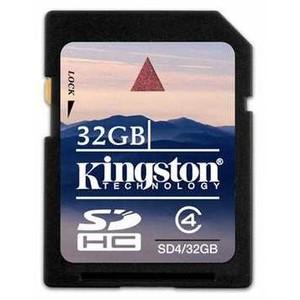 2000000000725 - KINGSTON SD4/32GB 32GB SDHC