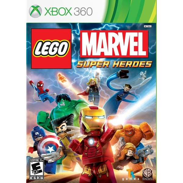 7892110164375 - LEGO MARVEL SUPER HEROES XBOX 360 DVD