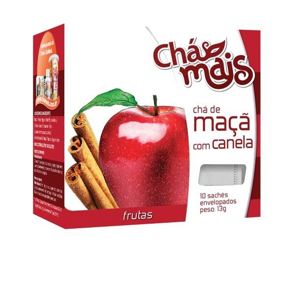 7891048038376 - MAÇA COM CANELA CHÁ MAIS 10 SACHÊS G