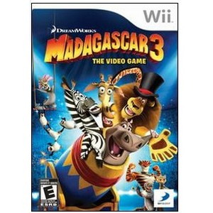 0879278340312 - MADAGASCAR 3 THE VIDEO GAME WII DVD