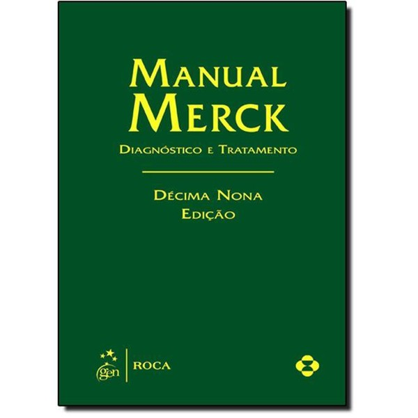 9788541201629 - MANUAL MERCK: DIAGNÓSTICO E TRATAMENTO - MERCK