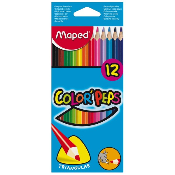 3154141832123 - MAPED COLOR PEPS 12 CORES