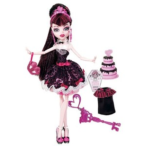 0746775088552 - MATTEL MONSTER HIGH 1600 ANOS DRACULAURA