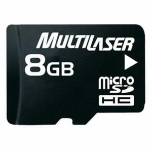 7898476328352 - MULTILASER MC004 8GB MICRO SDHC