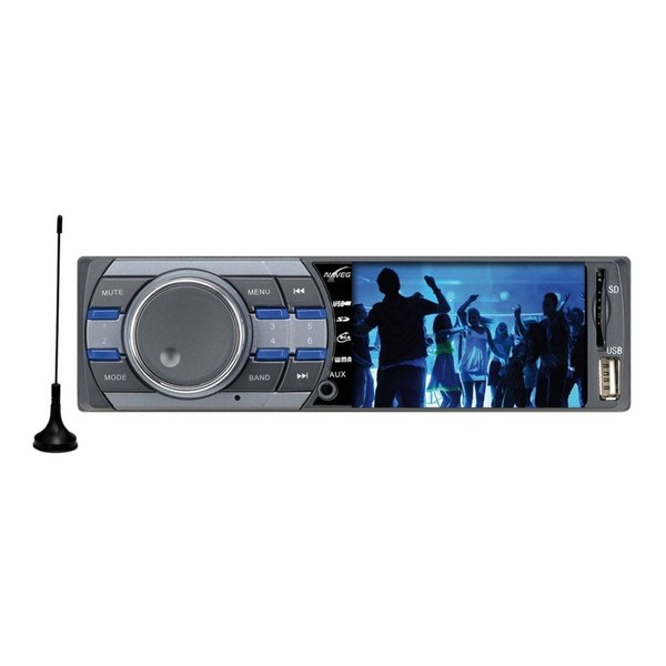7898596261836 - AUTO RÁDIO MP5 PLAYER AUTOMOTIVO NAVEG NVS 3079TV TELA LCD 3 COM TV DIGITAL
