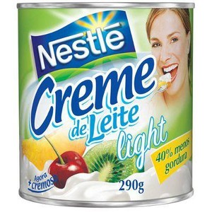 7891000121207 - CREME DE LEITE LIGHT LATA NESTLÉ 290G